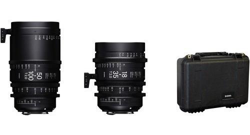 Sigma Cine 18-35mm E 50-100mm Lentes Ef/pl/sony 18-35