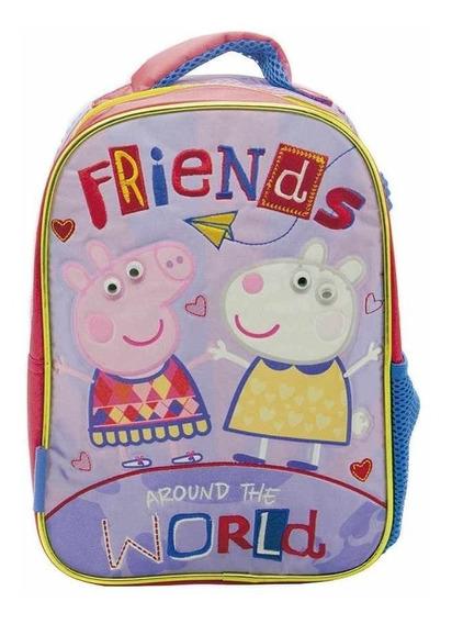 Mochila Espalda Peppa Friends Jardin 12
