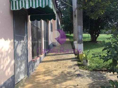 Chácara Com Casa E 02 Galpões, À Venda - Chácaras Ceres - Suzano/sp - Ch0045 - 68334554