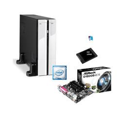 Pc K-mex Gm9f8a Intel Celeron D1800b 4gb Ddr3 Ssd120gb I
