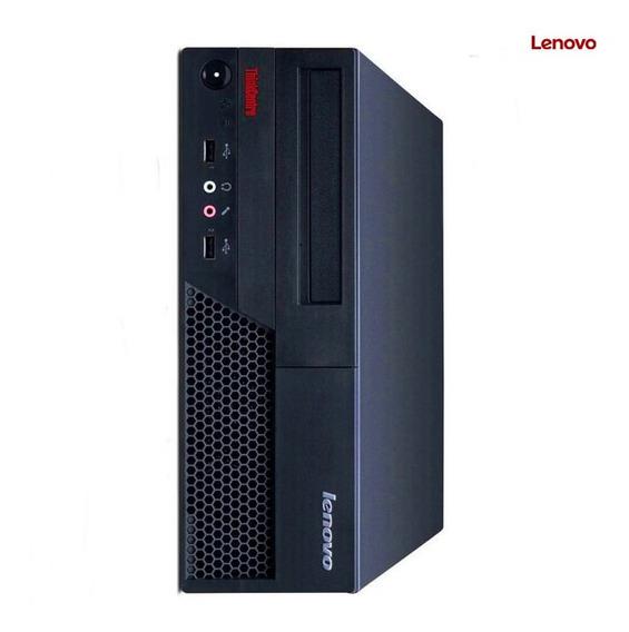 Desktop Lenovo 6234 Core 2duo 3.0ghz 4gb 160gb Win7 Seminovo