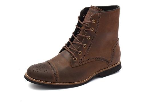Bota Coturno Masculino London Tamanho Especial Shoes Grand