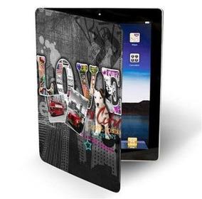 Capa Cover Protetora Folio Love My City Para iPad 2, 4, New