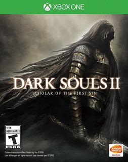 Dark Souls 2 Scholar Of The First Xbox One Nuevo