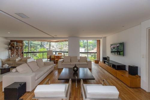 Imagem 1 de 27 de Apartamento Com 3 Dormitórios À Venda, 234 M² Por R$ 2.500.000,00 - Moema - São Paulo/sp - Ap16367