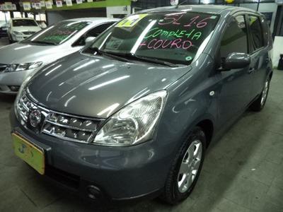 Nissan Livina 1.8 Sl Flex Aut. Completo Couro Rodas Abs 2012