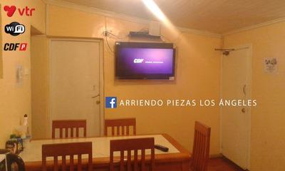 Arriendo Piezas Los Angeles - Full Amoblada Cdf Vtr Wifi