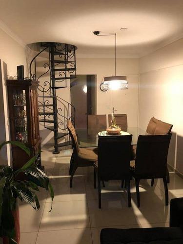 Cobertura Com 4 Dormitórios À Venda, 148 M² Por R$ 720.000,00 - Bosque - Campinas/sp - Co0330