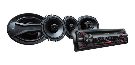 Auto Estéreo Sony De Cd Con Bocinas De 16cm (6 X 9 )
