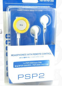 Headphone Com Controle Remoto Psp2