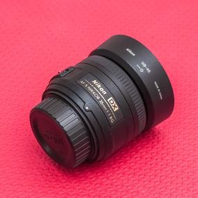 Lente Nikon Af-s 35mm F/1.8 G - Dx
