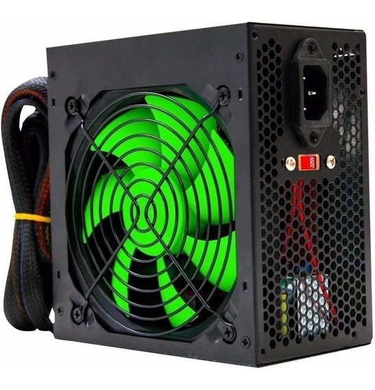 Fonte Atx 500w Real Gamer Tipo Corsair Top Pcie Barato