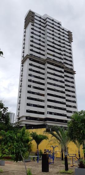 Apartamento 3q, (2 Suítes), Porcelanato, Frente C7s - Cocó