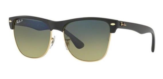 Oculos Sol Ray Ban Clubmaster Rb4175 877/76 57mm Polarizado