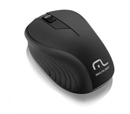 Mouse Sem Fio 2.4ghz Preto Usb Mo212 Multilaser