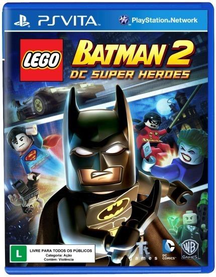 Lego Batman 2: Dc Super Heroes - Ps Vita - Lacrado