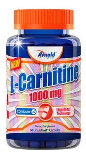 L-carnitina 1000mg 60 Cápsulas - Arnold Nutrition