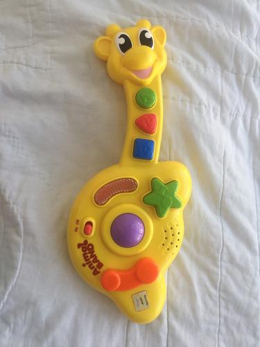 Guitarra Musical Keenway Jirafa De Juguete Para Día Del Niño