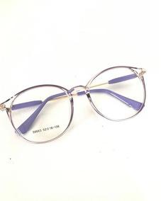 459a5e85b Oculo Grau Gatinho Lilas Em Cores - Óculos no Mercado Livre Brasil