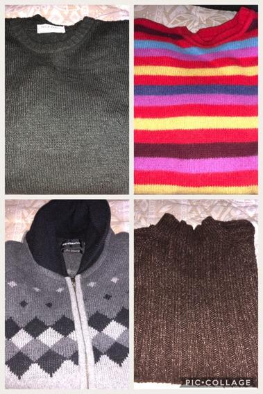 Sweaters Y Camperas De Lana Y Algodon
