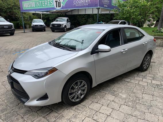 Impecable Toyota Corolla 1.8 Base Cvt 2017
