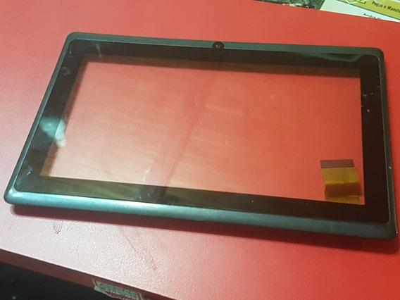 Carcaça Do Tablet Every E700 Com Touch E Botões