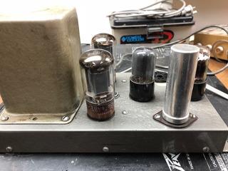 Amplificador Valvular Heathkit W3-am Mono Made In Usa Unico.