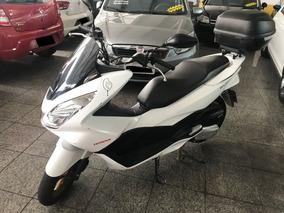 Honda Pcx 150 Dlx 2016 Baixa Km Moto Scooter Com Bau Alarme