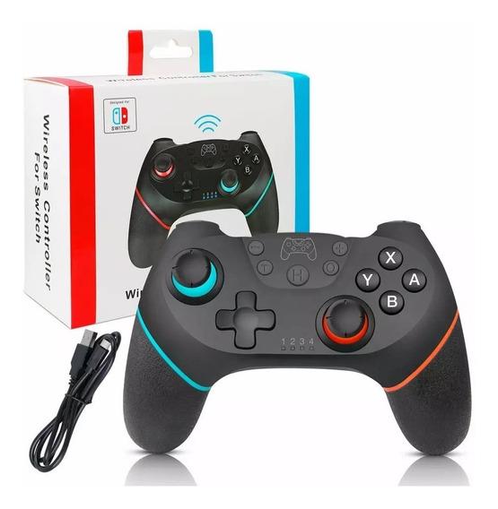 Controle Nintendo Switch Bluetooth Com Dupla Vibração