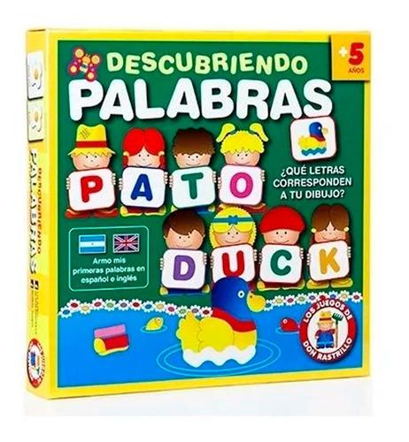 Juego De Mesa Descubriendo Palabras Ruibal Ingles Español