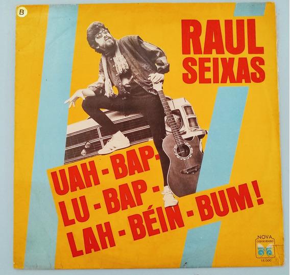 Lp Raul Seixas Uah Bap Lu Não Lah Bein Bum 1987