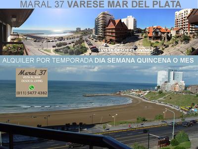 Alquiler Departamento Playa Varese Frente Al Mar Mardel 3amb
