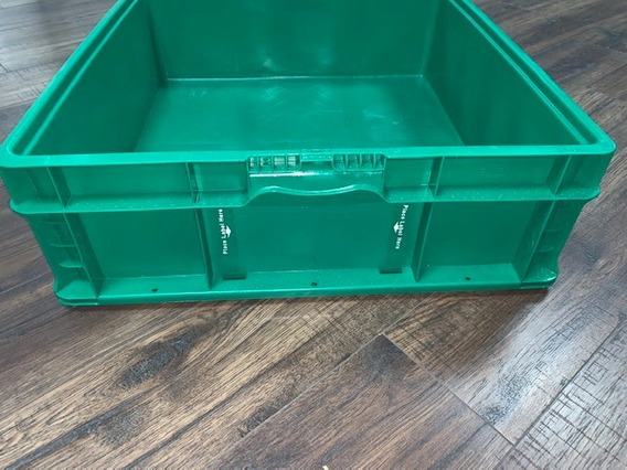 Caja/contenedor Plástica Industrial 24*22*7/cap35 Kg /automotriz/tote