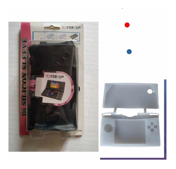 Kit Com 100 Capas Silicone Nitendo Ds Com Nfe E Garantia