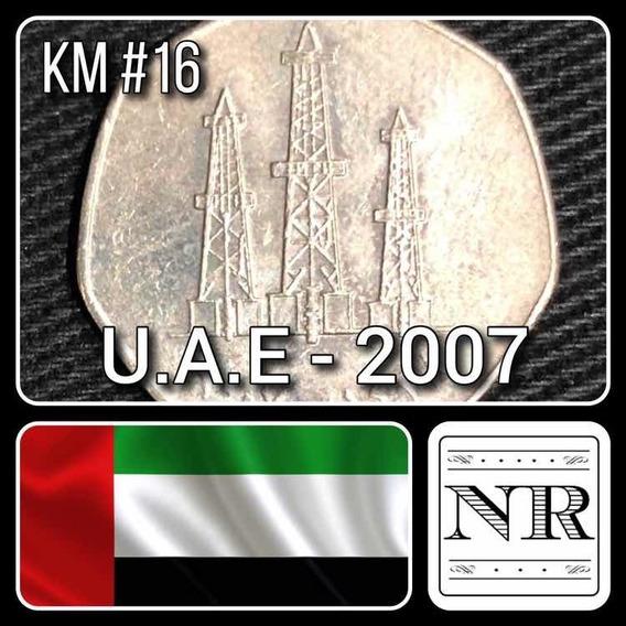Emiratos Arabes Unidos - 50 Fils - Año 2007 - Km # 16