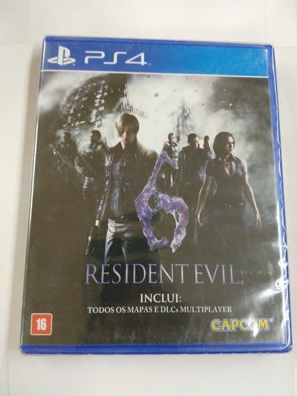 Resident Evil 6 Midia Fisica Ps4 Lacrado