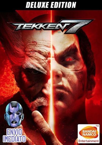 Tekken 7 Deluxe Edition Pc Steam Key Envio Imediato
