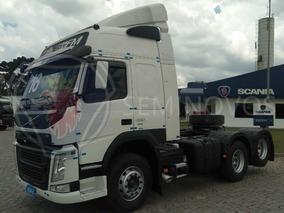 Volvo Fm 380, 2016, Branco, 6x2. Teto Alto, Automático R3830