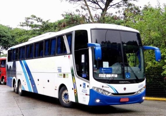 Ônibus Comil 3.65 Scania K400 Truck Seminovo Completo Turism