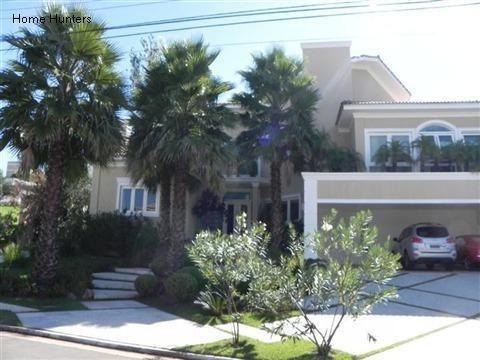 Casa Com 6 Dormitórios À Venda, 890 M² Por R$ 9.000.000,00 - Alphaville - Campinas/sp - Ca3834