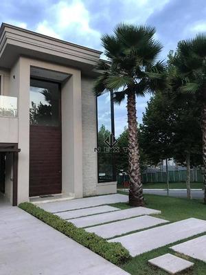 Casa Com 4 Suítes À Venda, 450 M² No Residencial Villa Solaia - Alphaville - Sp - Ca0271