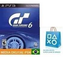 Gran Turismo 6 Psn Game Ps3 Psn