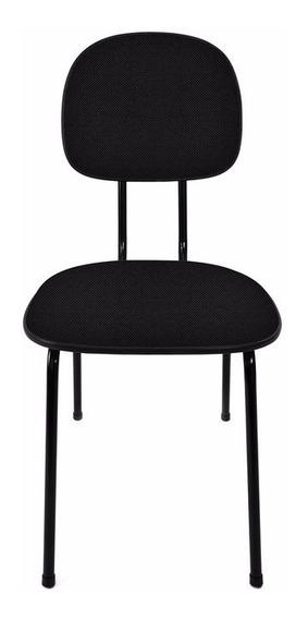 Cadeira Fixa Secretária | Varias Cores | Injetada