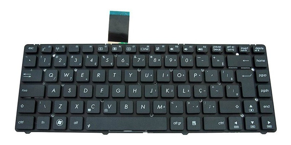 Teclado Para Notebook Asus K45vm | Abnt2 Preto