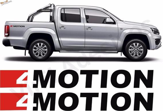 4motion Amarok - Ambos Laterales Dos Calcos - Graficastuning