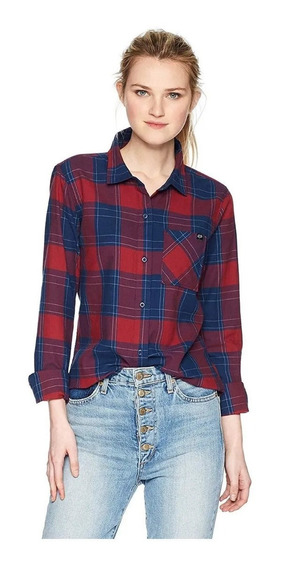 Camisas Mujer Importadas Fox Kick It Ls Flannel Africa Store