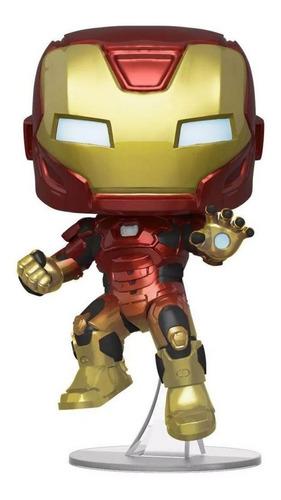 Boneco Funko Pop Marvel Gamer Verse Homem De Ferro 634