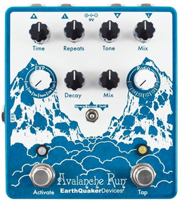 Pedal Earthquaker Devices Avalanche Run V2 Delay & Reverb