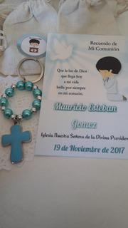 Llaveros Souvenirs Bautismo Comunion Confirmacion
