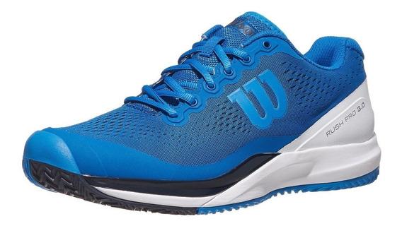 Zapatillas Hombre Wilson Rush Pro 3.0 Azul - Surtenis